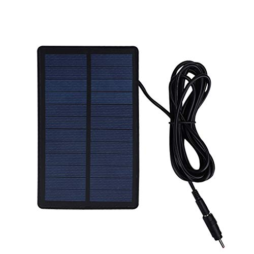Outdoor Camera Solar Powered Charger Built-in Lithium Polymer Battery Waterproof Solar Panel Power Bank