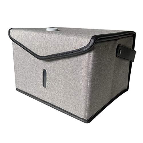 harayaa Neue Tragbare USB UV Desinfektionskoffer Tasche UVC Light Clean Für Intime Kleidung - Grau