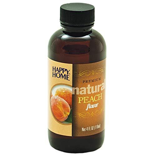Happy Home Premium Natural Peach Flavor - Certified Kosher, 4 oz.
