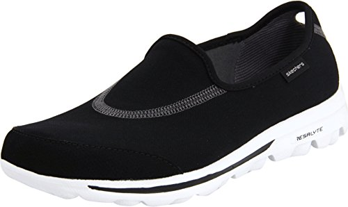Skechers Performance Women's Go Walk Black/White Walking Shoe 6 M US