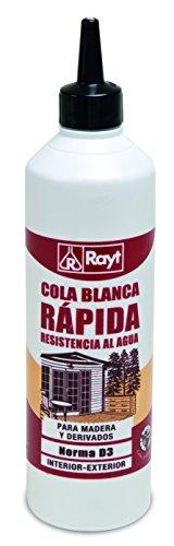 Rayt 066-81 Botellín de Cola Blanca D3 Resistente a la Humedad Apta para Exteriores, 750gr