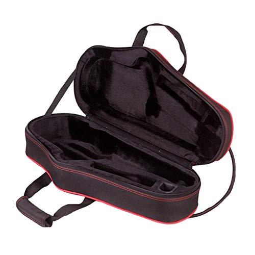 SDENSHI Wasserdichte Saxophon Tasche Koffer, Gepolsterte Saxophon Gigbag Rucksack mit Verstellbare Schultergurt für Alt Saxophon