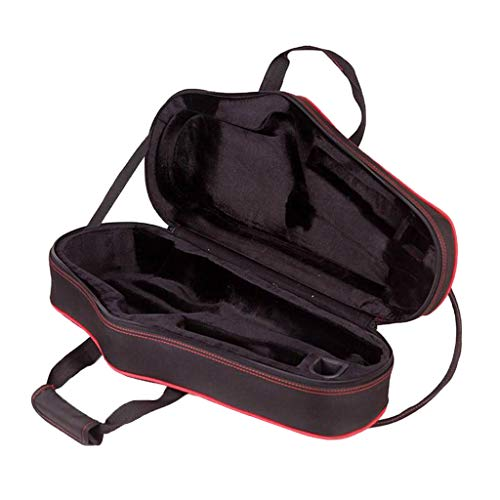 gazechimp Premium Altsaxophone Koffer, Nylon Saxophon Tasche Gigbag Rucksack, mit Schultergurt, Wasserfest, Hohe Qualitat