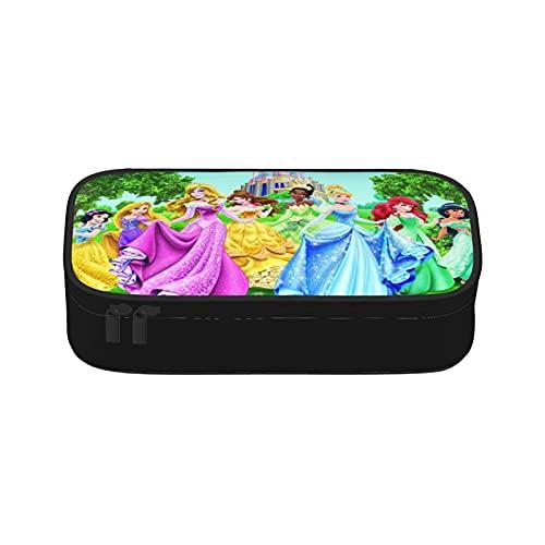 Caja de lápices de gran capacidad con diseño de princesas de Disney