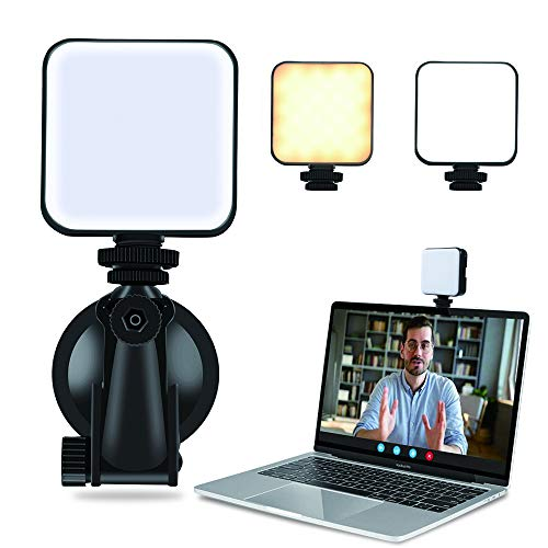 Video Conference Lighting Kit, LED Laptop Light for Video Conferencing, Zoom Lighting for Computer, Remote Working, Self Broadcasting, Live Streaming