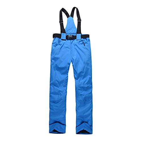 JSGJHXFWomen Ski Pants Outdoor Sports hoogwaardige bretels broek heren winddicht waterdicht warm winter sneeuw snowboard