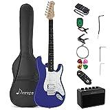 Donner Kit Chitarra Elettrica Stratocaster Chitarre Elettriche da 39 pollici con amplifica...