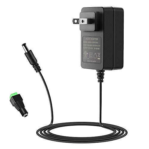 SHNITPWR 5V 3A Power Supply UL Listed 100~240V AC to DC Adapter Converter 5 Volt 3 Amp 15W Transformer with 5.5x2.1mm Tip for WS2812B LED Pixel TV Box Raspberry Pi Arduino, Level VI Energy Efficiency