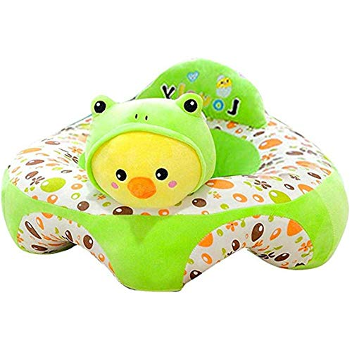 Best Buy! Sofa Support Seat Cover,Floral Print Baby Support Seat Sofa Cover Animal Shaped Baby Lea...