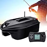 Montloxs Barco de Cebo de Pesca Control Remoto GPS Sonar Barcos Inteligentes RC Barco de señuelo eléctrico Alimentador de Peces para Pescador