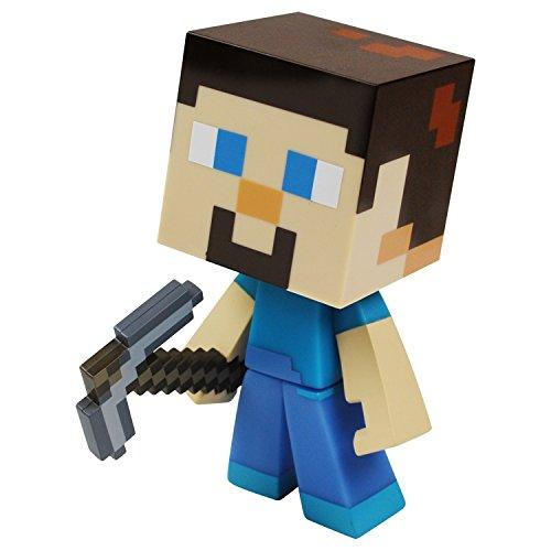 MINECRAFT- Personaggio Steve Alto 15 cm, 6022579