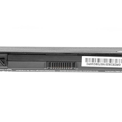 Green Cell Standard Serie JWPHF/R795X Laptop Akku für Dell XPS 15 L501x L502x 17 L701x L702x (6 Zellen 4400mAh 11.1V Schwarz)