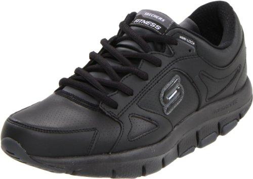 Skechers Liv-Lucent, Zapatos de Interior, Negro (BLK), 35 EU