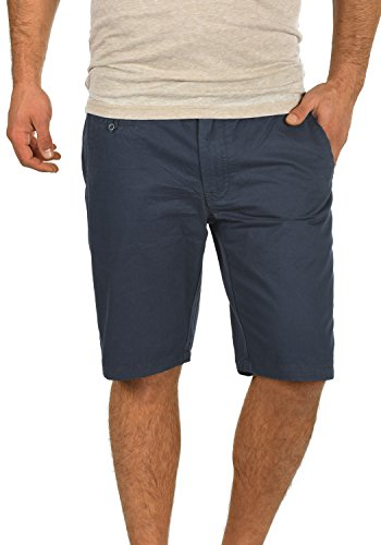 BLEND Sasuke Herren Chino Shorts kurze Hose, Größe:XL;Farbe:India Ink (70151)