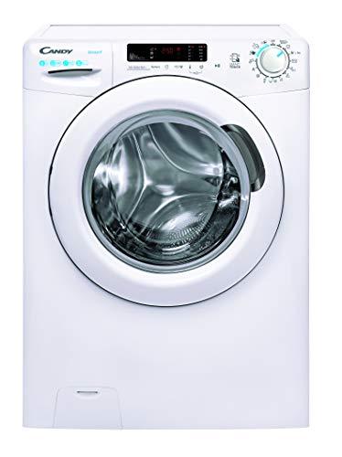 Candy Smart CS34 1262DE/2-S Waschmaschine 6 kg 1200 U/Min. Smarte Bedienung mit NFC-Technologie/Symbolblende/Tiefe nur 37 8 cm weiß
