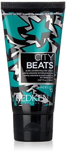 Redken City Beats Acidic Conditioning Color Cream#Time Square Teal - 85 Ml
