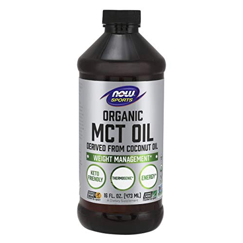 Now Foods MCT Oil, Organic | Weight Management | 16 oz (473 ml)