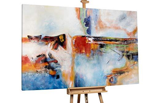 'Way to Go' 180x120cm   Abstrakt Bunt Punkt XXL   Modernes Kunst Ölbild