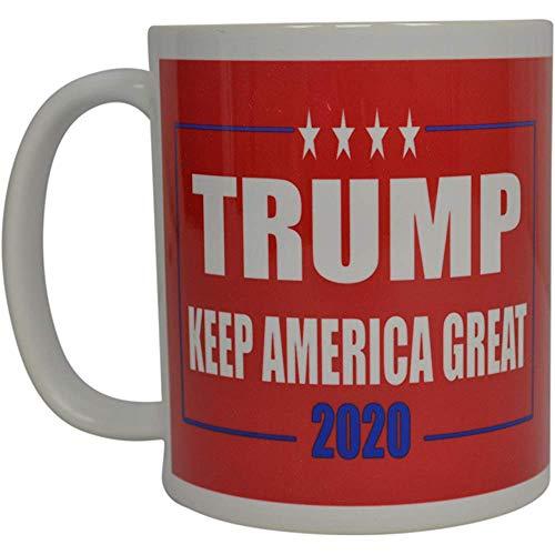 Donald Trump koffie-haver Keep America Great Trump 2020 nieuwe cup President van de Verenigde Staten MAGA (rood)