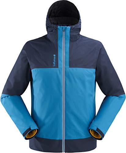 Lafuma Pumori GTX 3in1 Down Jacket Mannen tegel blauw/eclipse blauw/safran Maat XXL 2019 winterjas