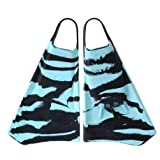 OPTION Palmes Bodyboard Zebra Black/Cyan