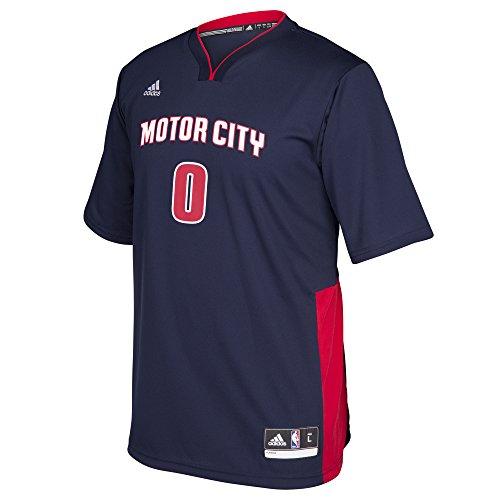 adidas–Camiseta de NBA réplica de la Camiseta Pride, Hombre, Pride, Azul Marino