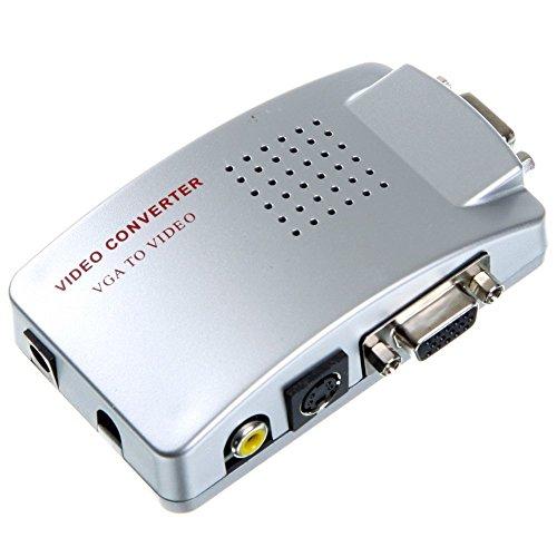 tempo di saldi Convertitore Adattatore Video Da Vga A Av, Rca,s-Video Per Monitor Pc Proiettori