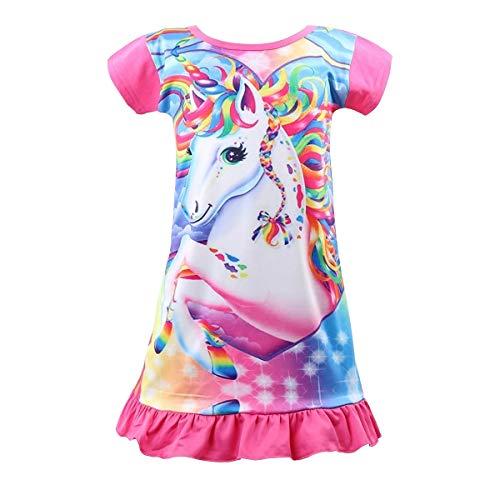 Disney Girls//Kids 5 Princess Childrens Nightie Nightdress Pyjamas Pink