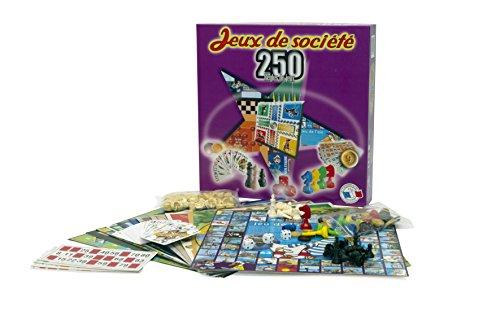Ferriot Cric- Coffret 250 Jeux, 1512, Violet
