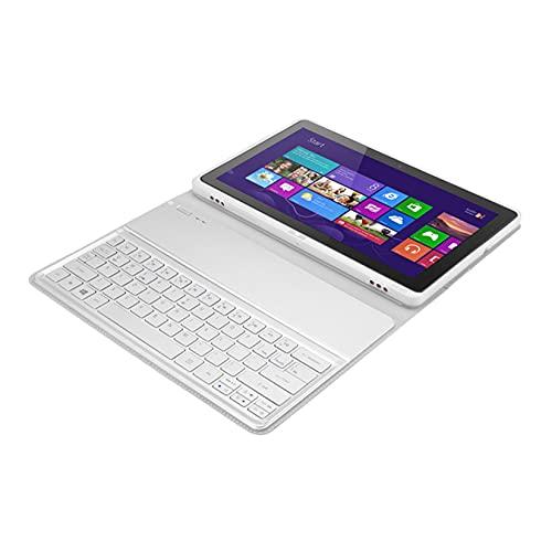 Funda para Teclado y Tableta Bluetooth ultradelgada KT-1252 Silve Compatible con Acer Iconia Tab W700