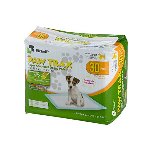 Richell Paw Trax Super Absorbant Coussinets d'entrainement