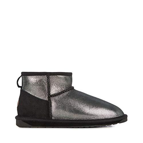 EMU Australia Womens Stinger Metallic Micro Winter Real Sheepskin Boots