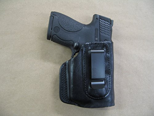 Walther PPS With Laser IWB Leather In The Waistband Concealed Carry Holster CCW BLACK RH