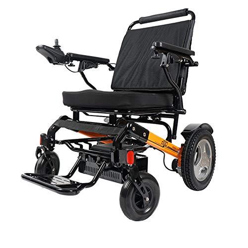 Leichter zusammenklappbarer Elektrorollstuhl, Behinderte ältere Menschen, Roller, vierrädrige Lithiumbatterie, elektrischer Rollator, ergonomisches Design, Rollstuhl