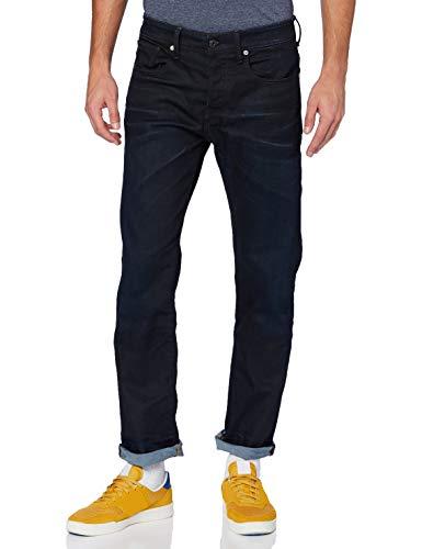 G-STAR RAW Herren Jeans 3301 Relaxed, Blau (Dk Aged 7209-89), 36W / 32L