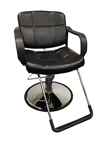 20' Wide Hydraulic Barber Chair Styling Salon...