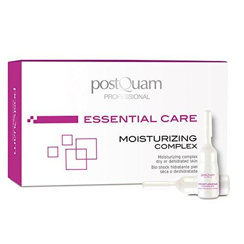Postquam - Essential Care | Soin du Visage Hydratant pour Peaux Déshydratées ou Sèches - 12 Ampoules x 3 ml