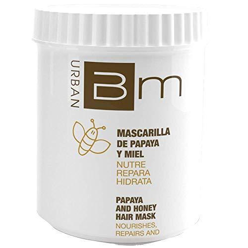 Blumin Mascarilla de Pelo/Mascarilla para el Cabello de Papaya y Miel, 700 ml