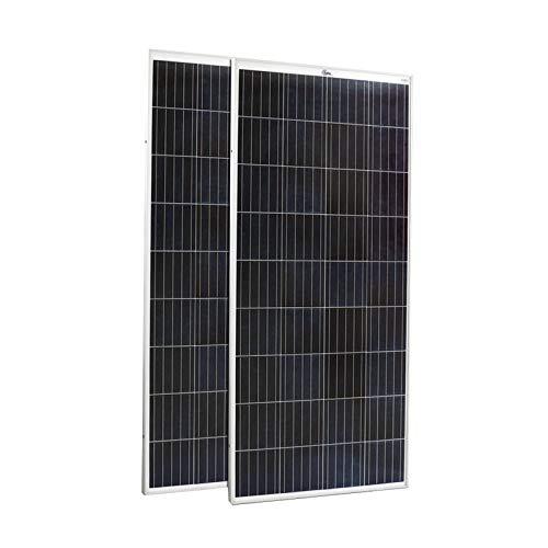 Galo Energy 160 Watt Solar Panel 12 V - Polycrystalline - (Pack of 2)