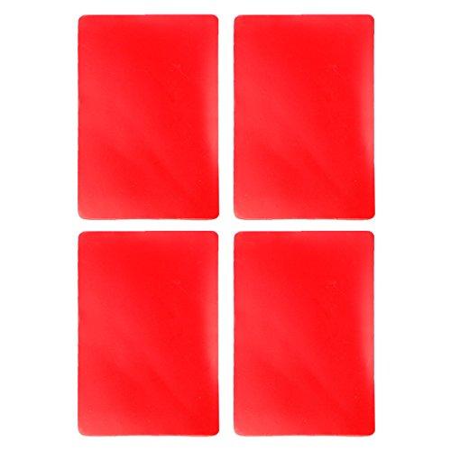 Xuniu 4 stuks tapijt anti-slip tape, dubbelzijdige acryl tape sterke lijm tapijt