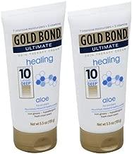Gold Bond Ultimate Healing Aloe Cream 5.5 oz.-2pk