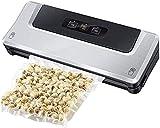 LINQ Cajas de Almacenamiento de sellador de vacío Máquina de sellador de vacío   Ahorro de Alimentos automático de un Toque con Modos Frescos húmedos Secos, fácil de Usar