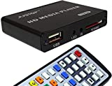 JUSTOP HD Media Box Player Full HD 1080P HDMI Out, 5.1 Surround Sound