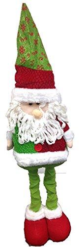 Decorazioni Di Natale Da Pavimento Di Babbo Natale, Pupazzo Di Neve O Renna Allungabile Christmas Decorations Santa