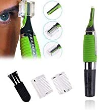 Wazdorf Cordless Touches Nose Trimmer All In One Personal Trimmer,Hair Trimmer Cordless Great For Travel, Nose Hair Trimmer With Built In Led Light nose trimmer for mens (Green)