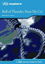 Roll of Thunder Hear my Cry (Letts Explore GCSE Text Guides) by John Mahoney (1-Apr-2004) Paperback