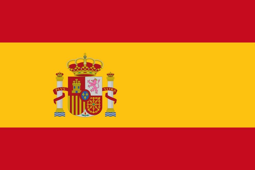 1art1 España - Banderas del Mundo Póster (120 x 80cm): Amazon.es: Hogar