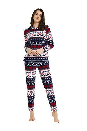 Pijama Invierno Mujer Polar Marca PimpamTex