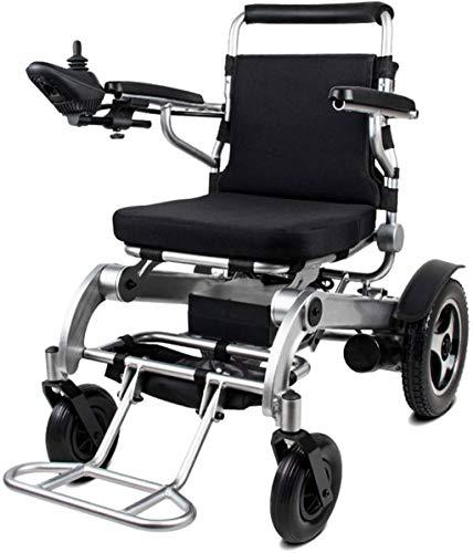 RDJM De Peso Ligero Plegable sillas de Ruedas eléctrica Silla de Ruedas eléctrica, for una Silla d
