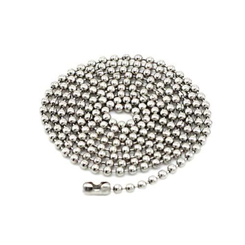 TOYANDONA Collar de Acero Inoxidable 316L Cadena de Collar d